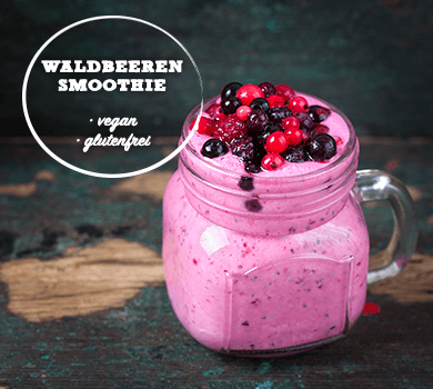 Waldbeeren Smoothie