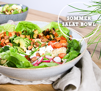 Sommer Salat Bowl